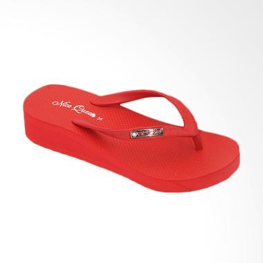 Ando Nice Queen Ladies Sandal Jepit Wanita - Merah