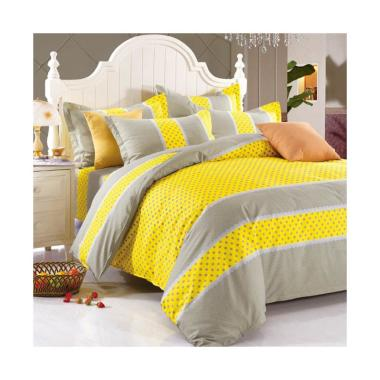 Beglance Cotton Sandra Bed Sheet Set Sprei