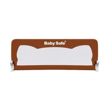 Baby Safe Bedrail Pagar Kasur Anak - Brown [150 cm]