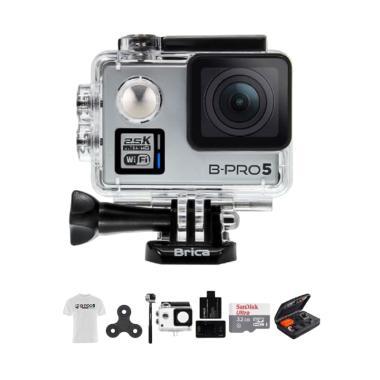 Brica B-PRO Alpha Plus 2 AP2 Combo  ... rt Action Camera - Silver