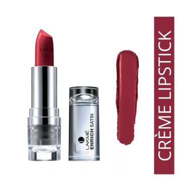 Lakme Enrich Reinvent Satins Lipstick - P128
