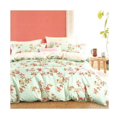 Melia Bedsheet J-4043 Katun Jepang Set Sprei -  Floral Print