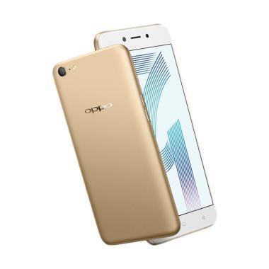 OPPO A71 2018 Smartphone - Gold [32 GB/3 GB]