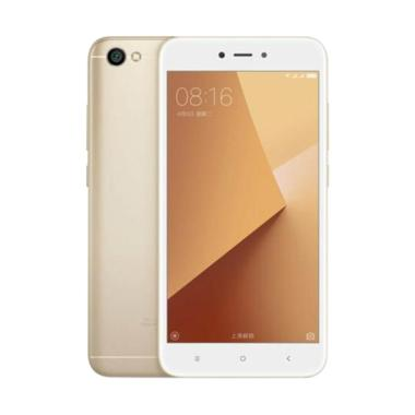 Xiaomi Redmi Note 5A Smartphone - Gold [5.5 Inch/ Android 7.0 Nougat]