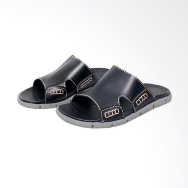 Recommended Kulit Sandal Pria - Hitam [289RCM]