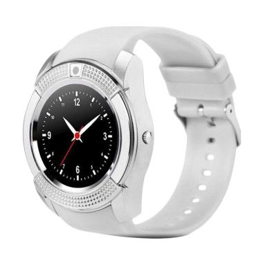 Xwatch V8 Smartwatch for Android dan iPhone - Silver