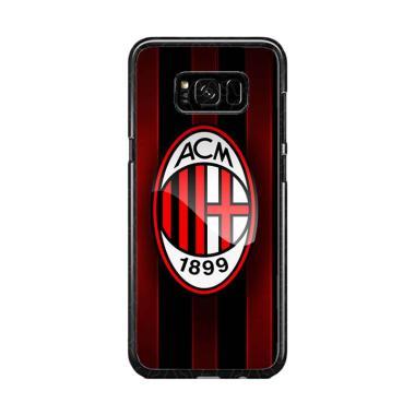 Guard Case Ac Milan O1209 Custom Ha ... or Samsung Galaxy S8 Plus