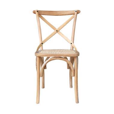 VIE FOR LIVING Cross Chair Kursi Makan