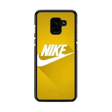 Acc Hp Just Do It Yellow Flat O0929 Custom Casing for Samsung A8 2018
