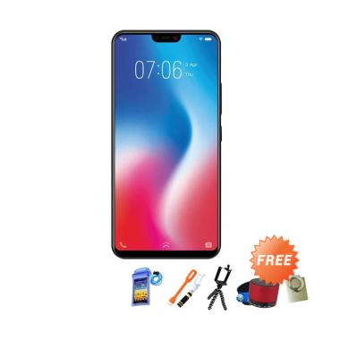 VIVO V9 Smartphone - Gold + Free 8 Accesories