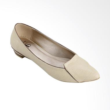 Farish Tressa Sepatu Flat Wanita - Beige