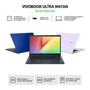 LAPTOP ASUS M413IA RYZEN 3-4300 RAM 8GB SSD 512 WIN ORI