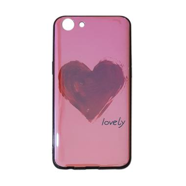 OEM Marcell Blue Ray Pink Love Casing for OPPO A83