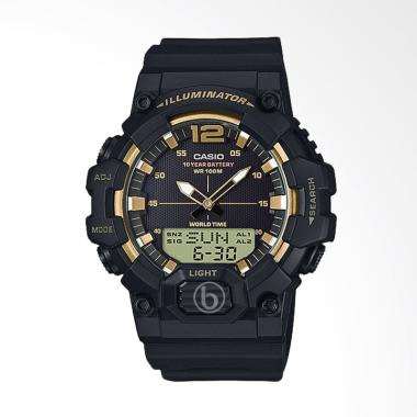 CASIO Original Analog Digital Telem ... - Black Gold [HDC-700-9A]