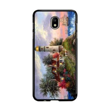 Flazzstore Lighthouse On Hill Art Y ... amsung Galaxy J7 Pro 2017