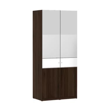 Pro Design Inbiz HH Lemari Pakaian  ... ut White Glossy [2 Pintu]