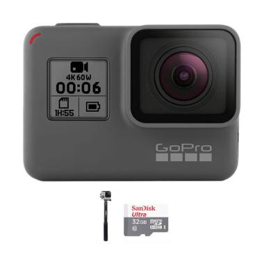 GoPro Hero 6 Combo Attanta Supreme 32 GB Action Camera - Black