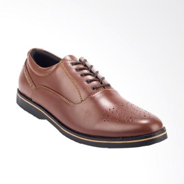 Giant Flames Classic Mavendra Formal Sepatu Pria - Brown