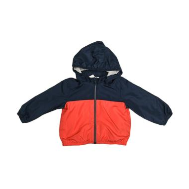 Branded Outlet BO 1023 H&M Parasut Jacket Anak Laki - Blue Red