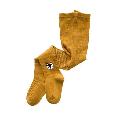 Abby Baby Animal Pantyhose Celana Anak - Yellow