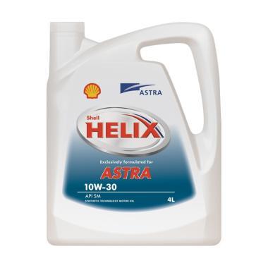 Shell 8997020570274 Helix Astra 10W 30 Oli Pelumas Mobil 4 L