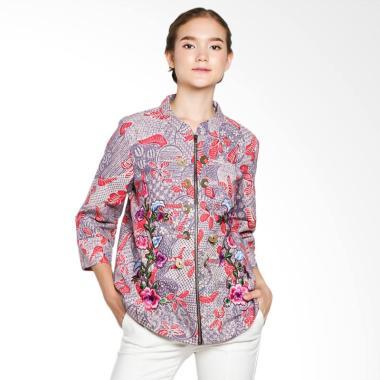 Draisal Batik LPB 020/BLI 01 /01 Rossi Blazer Wanita - Purple Pink