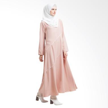 allev_allev-naifa-dress---peach_full05 Review List Harga Busana Muslim Formal Terbaik minggu ini