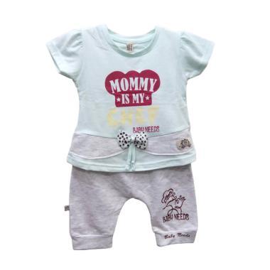 Kiddy Baby Gift Set Baby Boy 11161 Biru New - Set Pakaian Bayi Laki Laki  