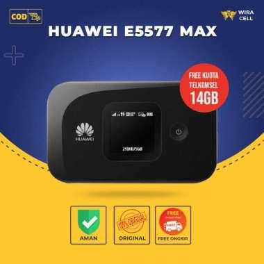 harga Modem Wifi Huawei E5577 MAX Mifi 4G LTE Unlock All Opr Free Kuota 14Gb Blibli.com