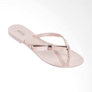 Melissa Harmonic Make A Wish with Pouch Sandal Flip Flop Wanita - Pink