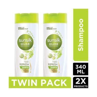 SUNSILK Hijab Refresh Shampoo [170 mL/Twin Pack]