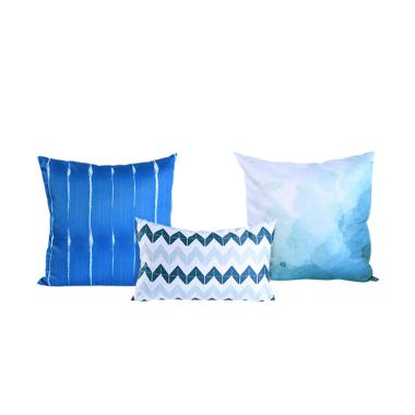 Olafur Altair Pillow Set - Blue [Set of 3]