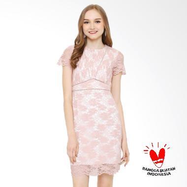 Rimini 822 Dress Wanita - Pink