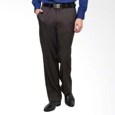 Traffic Formal Regular Celana Panjang Pria - Kopi