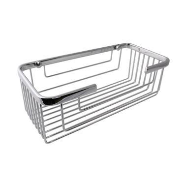Waterplus WBR-112 Wire Basket Rectangle Single M Rak Sabun