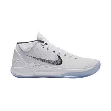 NIKE Kobe AD Sepatu Basket Pria - White Ice