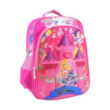 DJ Fashion 3D Backpack Tas Sekolah Anak Perempuan [13 Inch]
