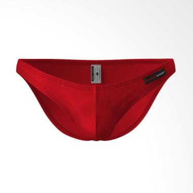 Boostwear BoostSox Brief Pakaian Dalam Pria - Merah 78bf3dc06c