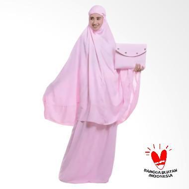 OEM Polos Premium Mukena - Baby Pink