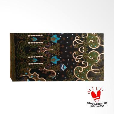 7Kav Batik Motif Kombinasi Batik Tulis - Hitam Hijau