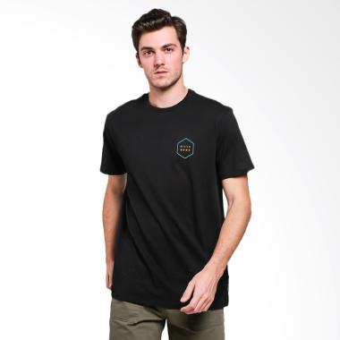 Billabong Access Border T-Shirt Pria - Black  BLA0  e40c270b4c