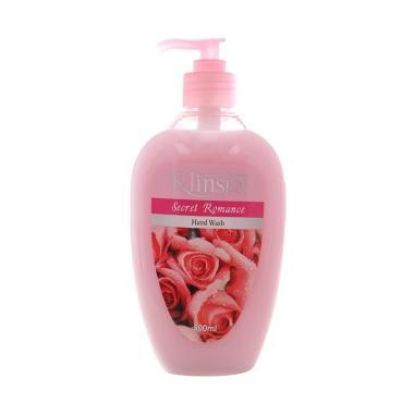 ... Klinsen Cream Secret Romance Hand Wash Bottle 500 mL