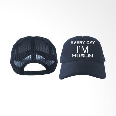 IndoClothing Everyday I'm Muslim Topi Trucker