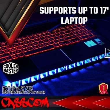harga Cooler Master Notepal X150R Cooler Pad/Cooling Pad Fan Laptop 14 - 17