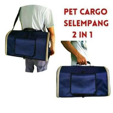 harga Pet carrier kucing anjing musang - tas kucing - Navy Blibli.com