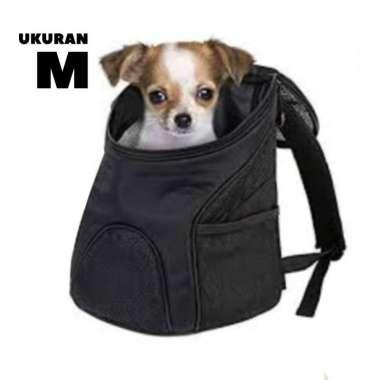 harga Tas Gendong Anjing Kucing Hewan Backpack Carrier Pet Dog Cat kain - ukuran M Blibli.com