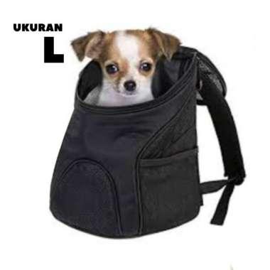 harga Tas Gendong Anjing Kucing Hewan Backpack Carrier Pet Dog Cat kain - ukuran L Blibli.com