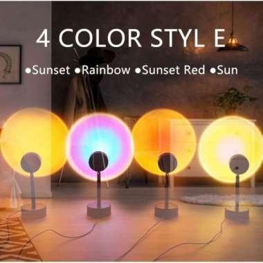 harga Lampu Sunset LED Proyektor Lampu Tidur Night Lamp Plus Tripod New - Random Multicolor Blibli.com