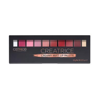 CATRICE Creatrice Creamy Matt Lip Palette Lipstick - 010