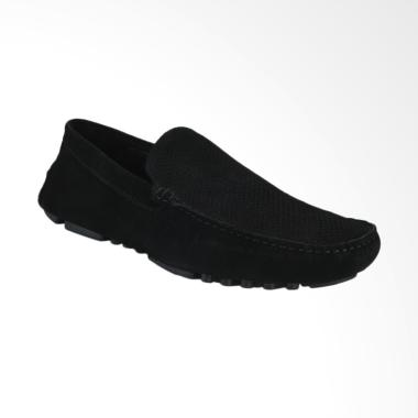 Marc & Stuart Sepatu Pria - Black [M2-MSHK-9-181]